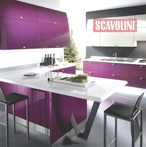 Cucina Moderna Lilla.Moderna Cucina Flux Della Scovolini Notizie It