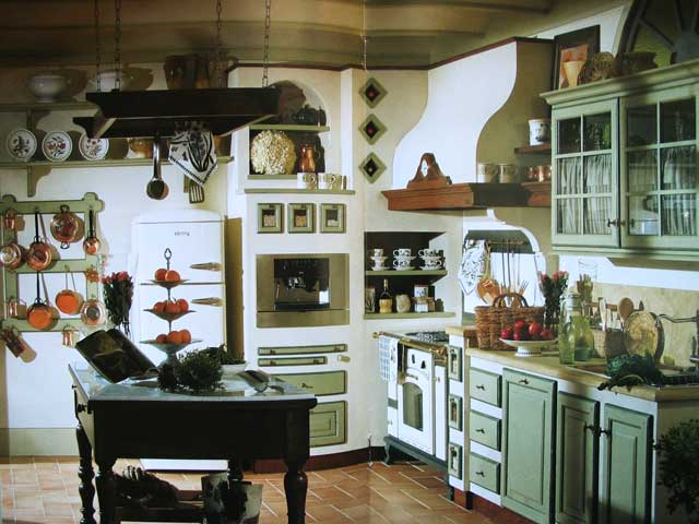 Moderna cucina in muratura for Cucina moderna abbonamento