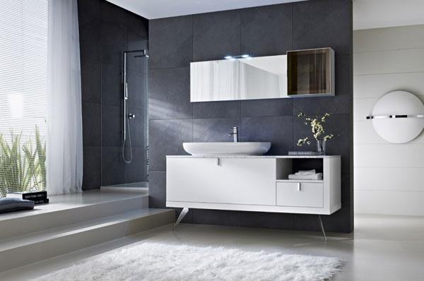 Moderno bagno realizzato secondo stile moderno ed for Voga mobili design