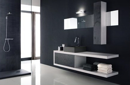 Moderno ed accattivante bagno - Notizie.it