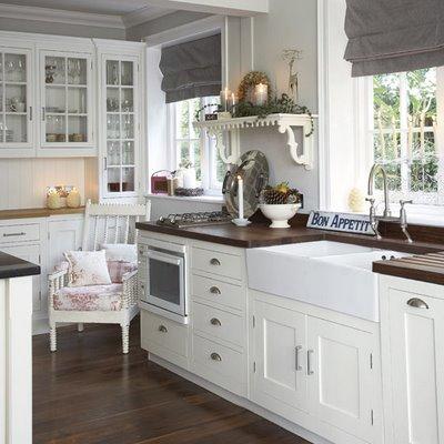 Cucina Rustica Bianca Idea Per Costruire Cucina In Muratura