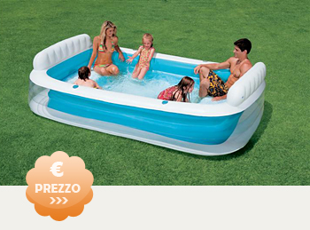Moderna piscina gonfiabile for Prezzi piscine intex