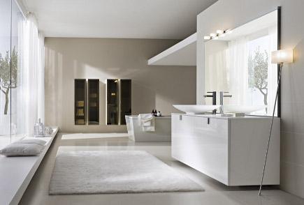 Moderno e rivoluzionario bagno realizzato con arte, stile ed eleganza ...