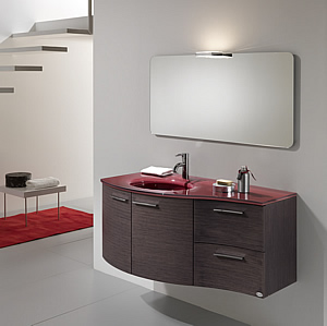 la ditta artesi propone questo esclusivo e modernissimo bagno concepito stilisticamente secondo una nuova e vincente filosofia del vivere comune e