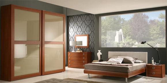 Gmk arredamenti propone camera da letto denominata for Riflessi arredamento