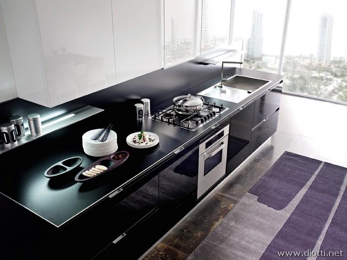Diotti arredamenti propone esclusiva cucina horizon for Diotti arredamenti