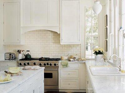 Moderna ed esclusiva cucina color bianco avorio - Notizie.it