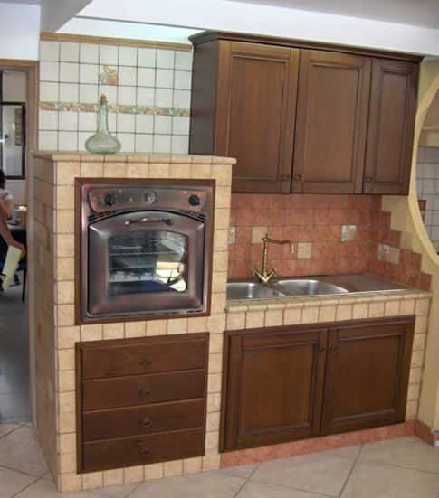 Pensili Cucina In Muratura. Cucina Con Pensili Laccato E Basi In ...