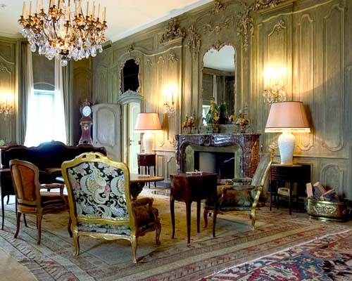 Salotto artistico for Case eleganti