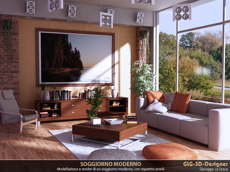 Moderno ed innovativo soggiorno realizzato con stile ed eleganza: i ...