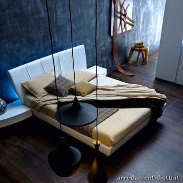 Moderna camera da letto \