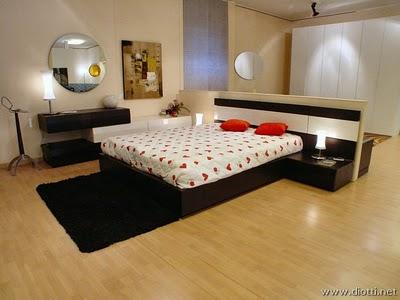 Diotti arredamenti propone esclusiva e moderna camera da for 4 piani casa moderna camera da letto