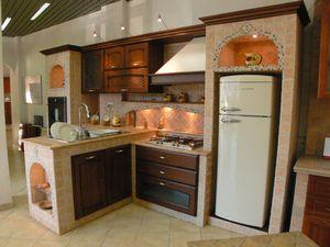 Moderna cucina in muratura vera chicca della nostra casa - Forno per cucina componibile ...