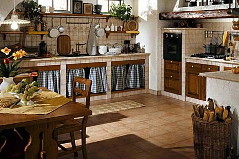 Moderna ed esclusiva cucina in muratura - Notizie.it