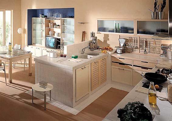 La ditta Aurora Cucine propone esclusiva cucina in muratura ...