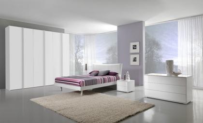 La ditta Giessegi propone moderna ed originale camera da letto ...
