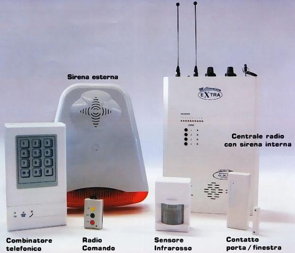 Ed insuperabile antifurto senza fili, con tecnologia sistema d.p.s