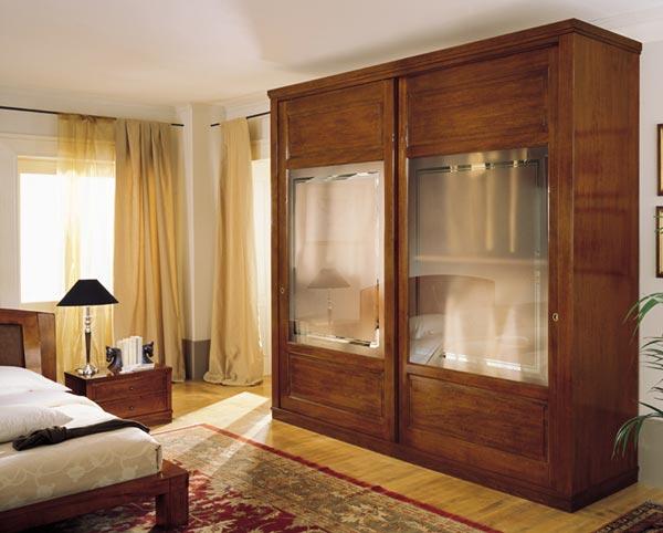 La ditta paola elisa mobili propone questa modernissima camera da letto in legno pregiato - Mobili innovativi ...