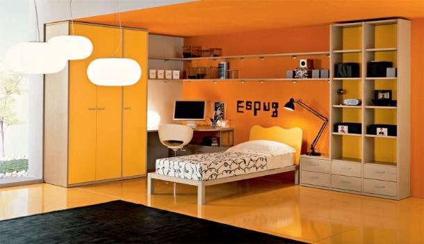 Moderna ed innovativa camera da letto per ragazzi   notizie.it
