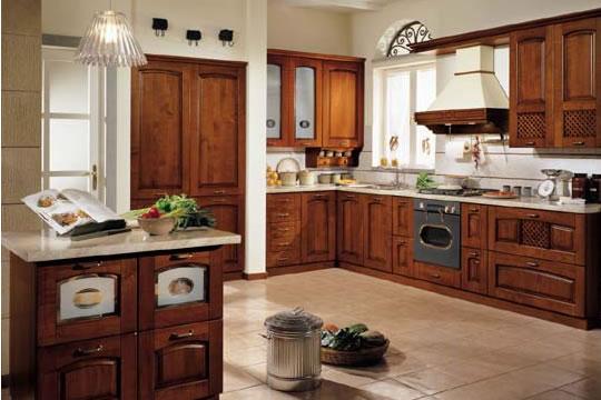 Innovativa e rivoluzionaria cucina classica for Stile casa classica
