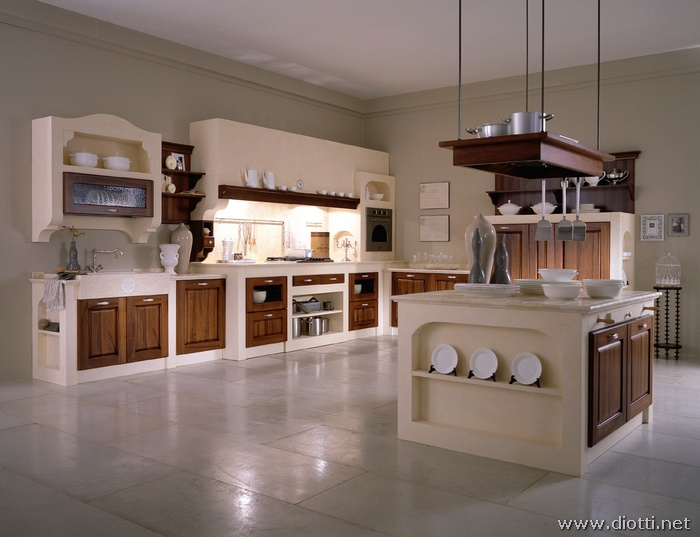 Awesome Cucine In Muratura Rustiche Con Isola Contemporary - Ideas ...