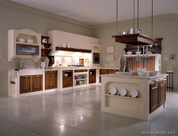 Nuova ed eccentrica cucina classica - Cucine americane foto ...