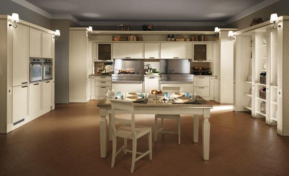 "Moderna e rivoluzionaria cucina Scavolini denominata ""Grand Relais ..."