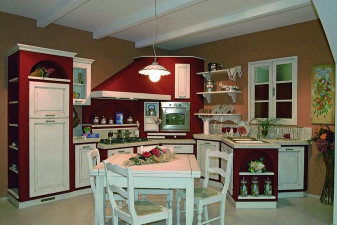 La ditta CUCINE ARCA propone questa esclusiva ed eccentrica cucina ...