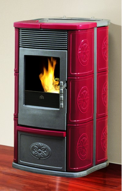Moderna ed innovativa stufa a pellet della ditta edilkamin - Edilkamin termostufe a pellet prezzi ...