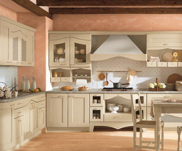 La ditta arredamento giuliano propone esclusiva cucina - Colori pareti cucina classica ...