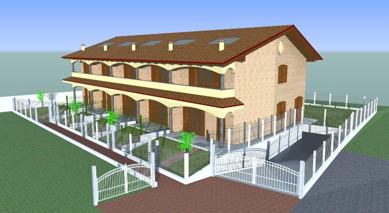 Case a schiera esiste l 39 obbligo di costituzione del condominio - Casa a schiera progetto ...