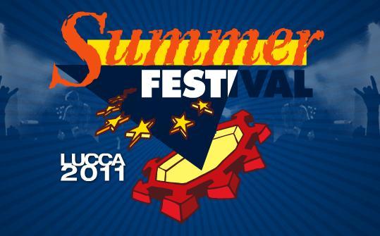 date e concerti band Summer Festival Lucca 2011