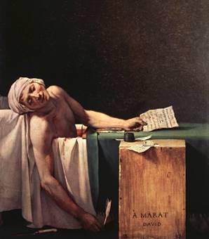 David La morte di Marat