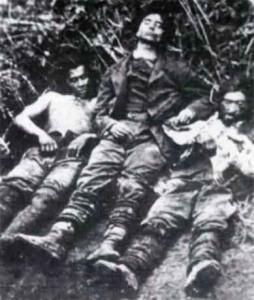 Immagine di una repressione: la fine dei briganti