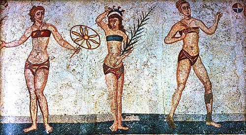 La biancheria intima delle antiche romane - Bagno romano igea marina ...