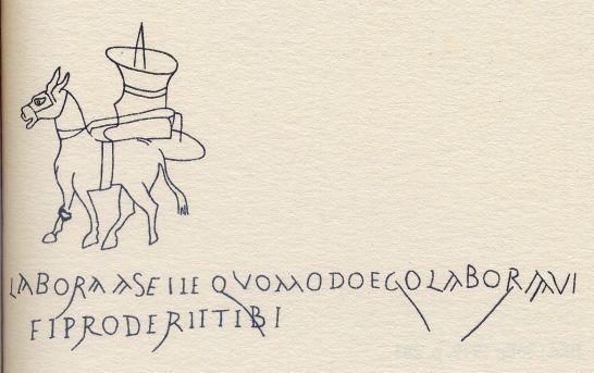 Scritte sui muri di pompei - Scritte sui muri di casa ...