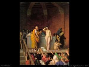 jean leon gerome 020 mercato degli schiavi a roma 1884 300x225