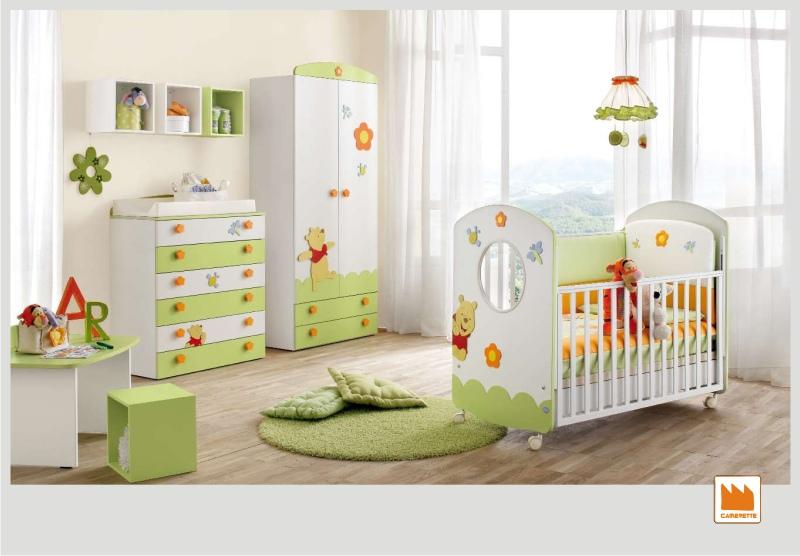 Idee disney per la camera dei bambini for Idee pareti cameretta neonato