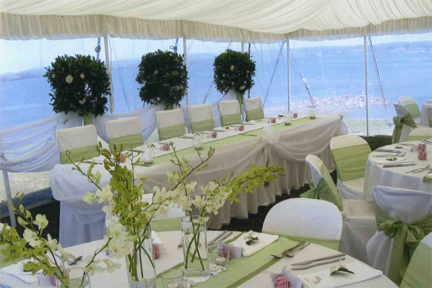 Pranzo di nozze scegliere le decorazioni per i tavoli for Decorazioni tavoli matrimonio