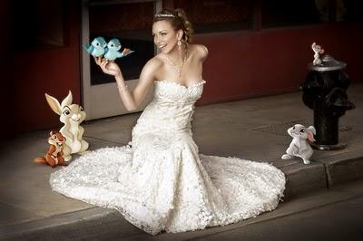 Abito da sposa Disney