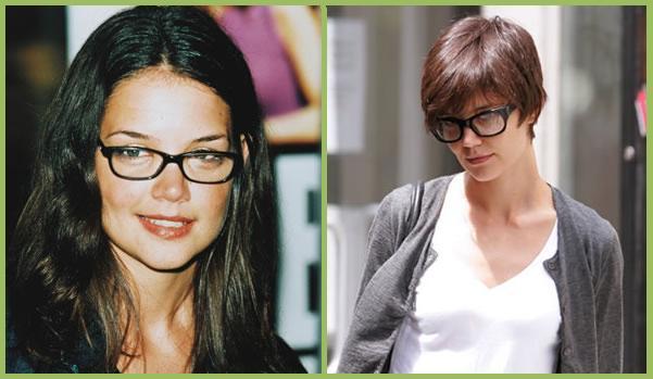 Tagli di capelli corti donne cinquantenni con occhiali