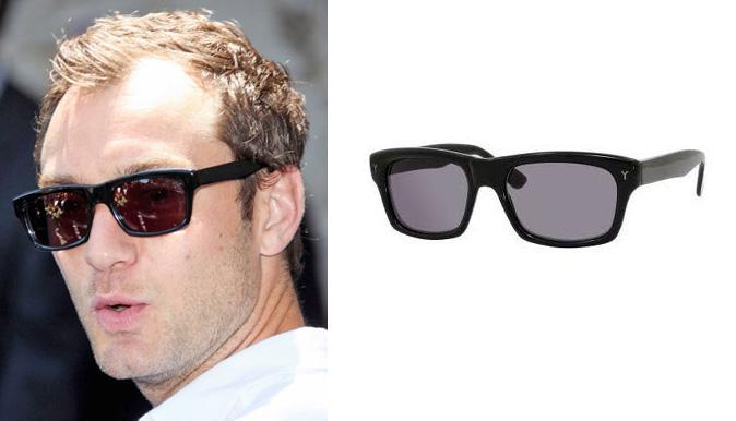 jude law ysl sunglasses