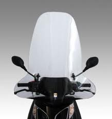 parabrezza scooter