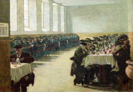 angelo morbelli pio albergo trivulzio 1903