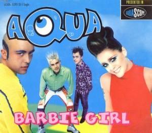 Barbie Girl Aqua 300x261
