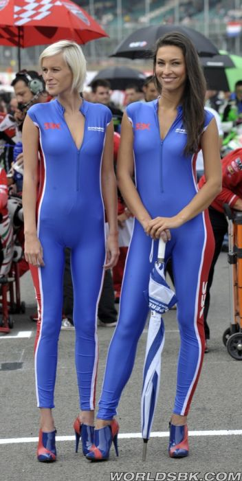 Motor racing girls tight thong leggings - 2 1