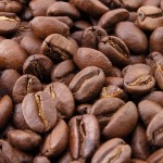 Roasted coffee beans 150x150