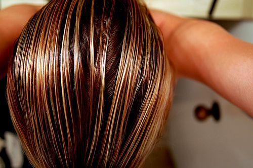 Волосы на Sfino: мелирование дома самой