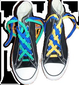 lacci scarpe converse