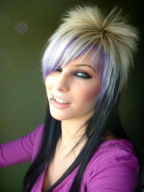 """Super Tagli di capelli per ragazze """"emo"""" - Notizie.it KY69"""